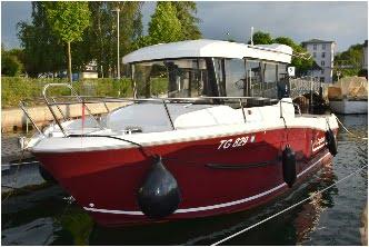 Foto eines Motorboots in Kreuzlingen
